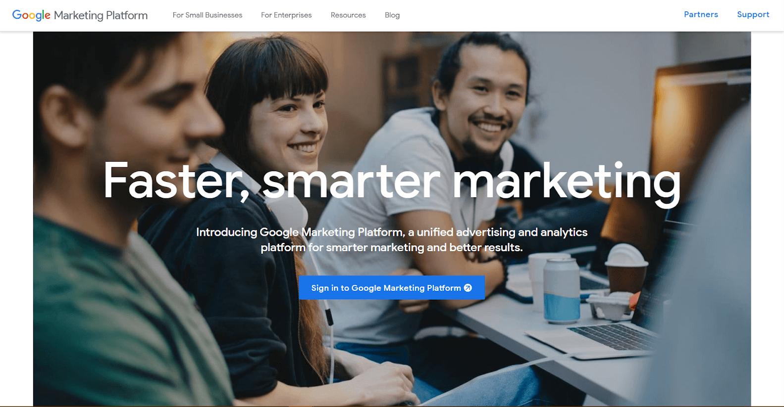 Google Marketing Platform Tools
