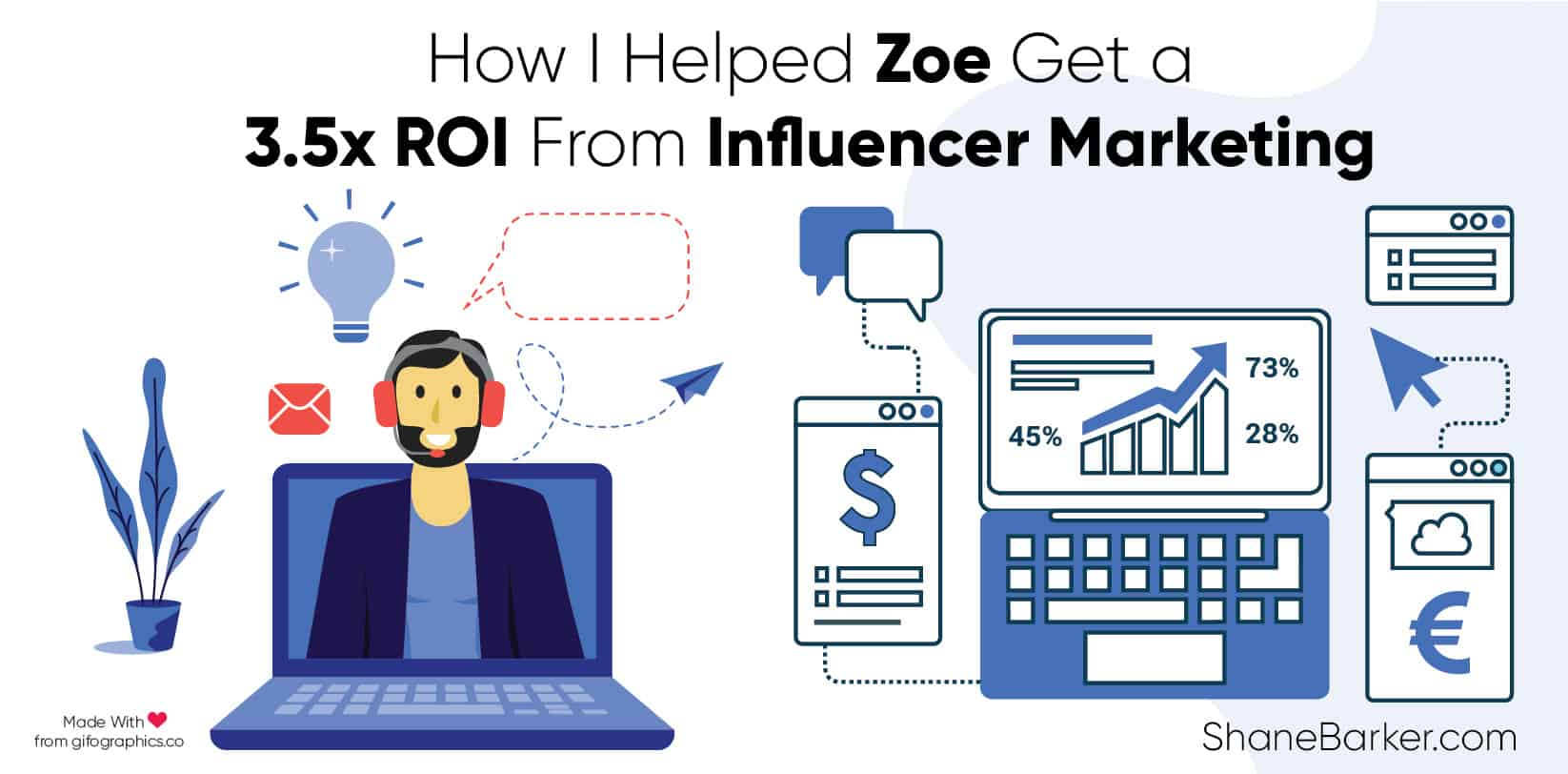 How I Helped Zoe Get a 3.5x ROI From Influencer Marketing_blog