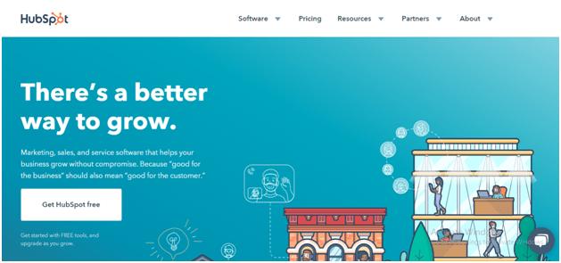 HubSpot Website Navigation