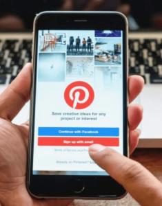 Pinterest mobile Traffic