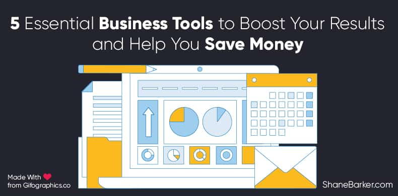 5 essential business tools to boost your results and help you save money
