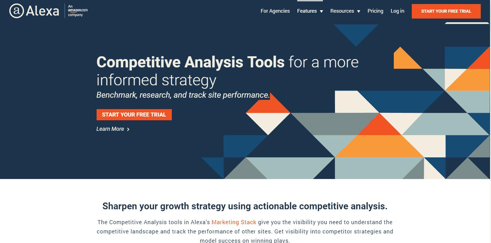 Alexa Competitor Analysis Tools