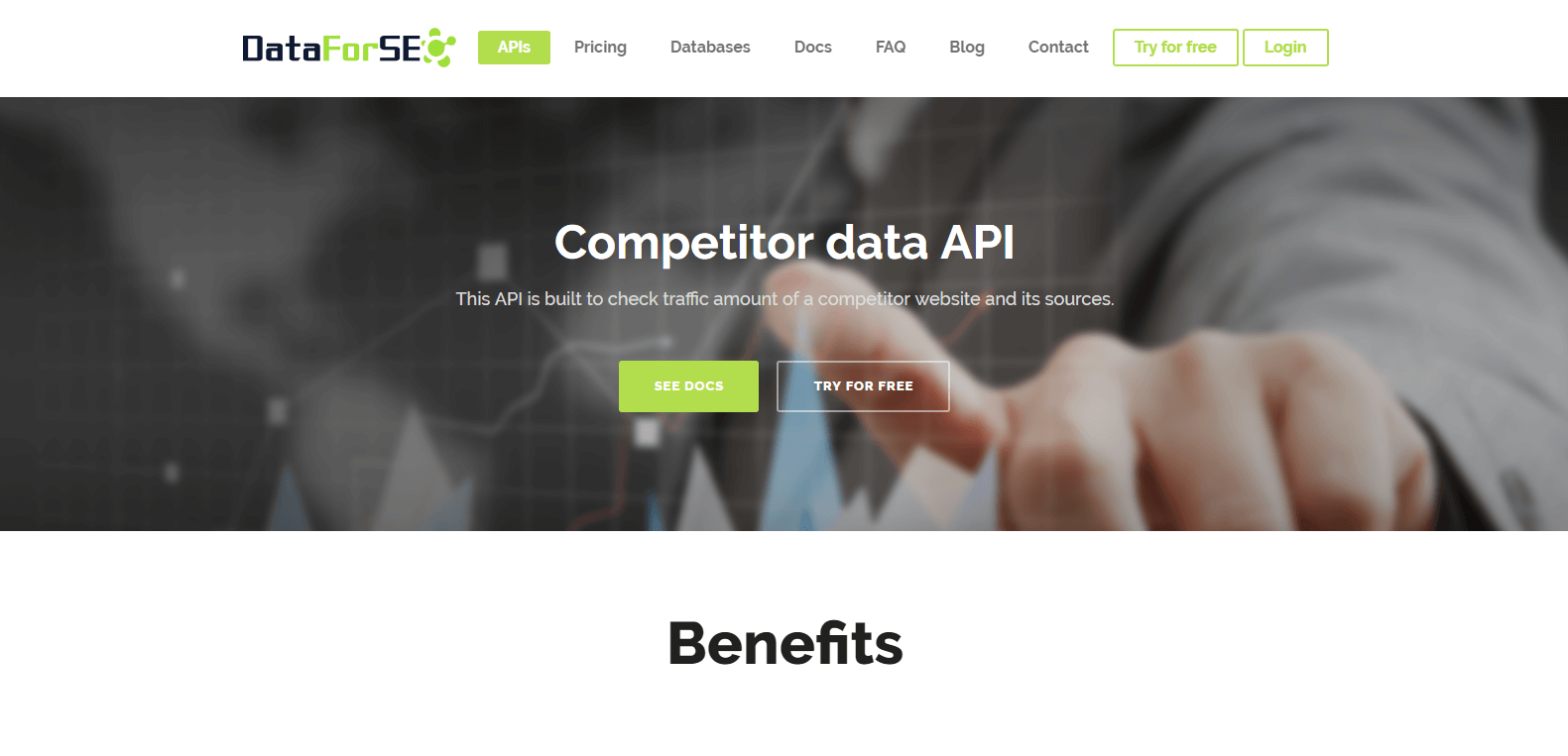 DataForSEO Competitor Analysis Tools