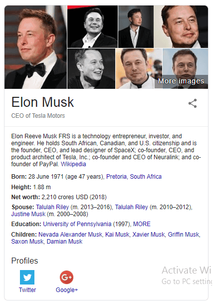 Elon Musk Knowledge Graph