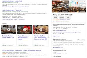 Katz's Delicatessen Knowledge Graph