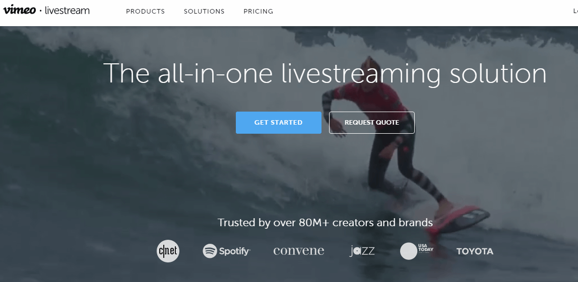 Livestream Webinar Hosting Website