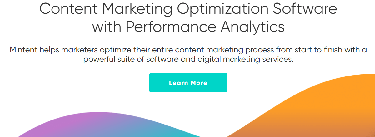 Mintent Content Marketing Platform