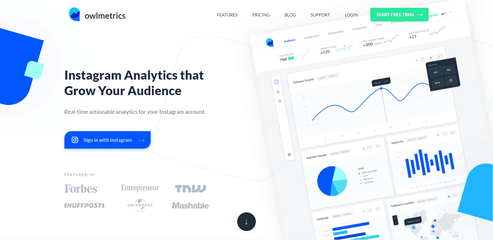 Owlmetrics Instagram Analytics Tools