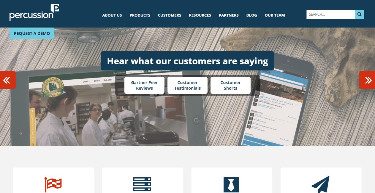 Percussion Content Marketing Platform