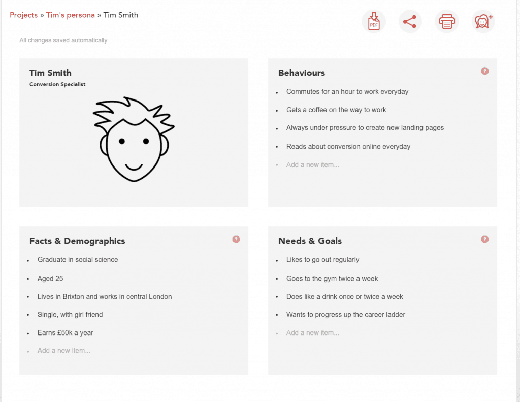 Personapp Inbound Marketing for Startups