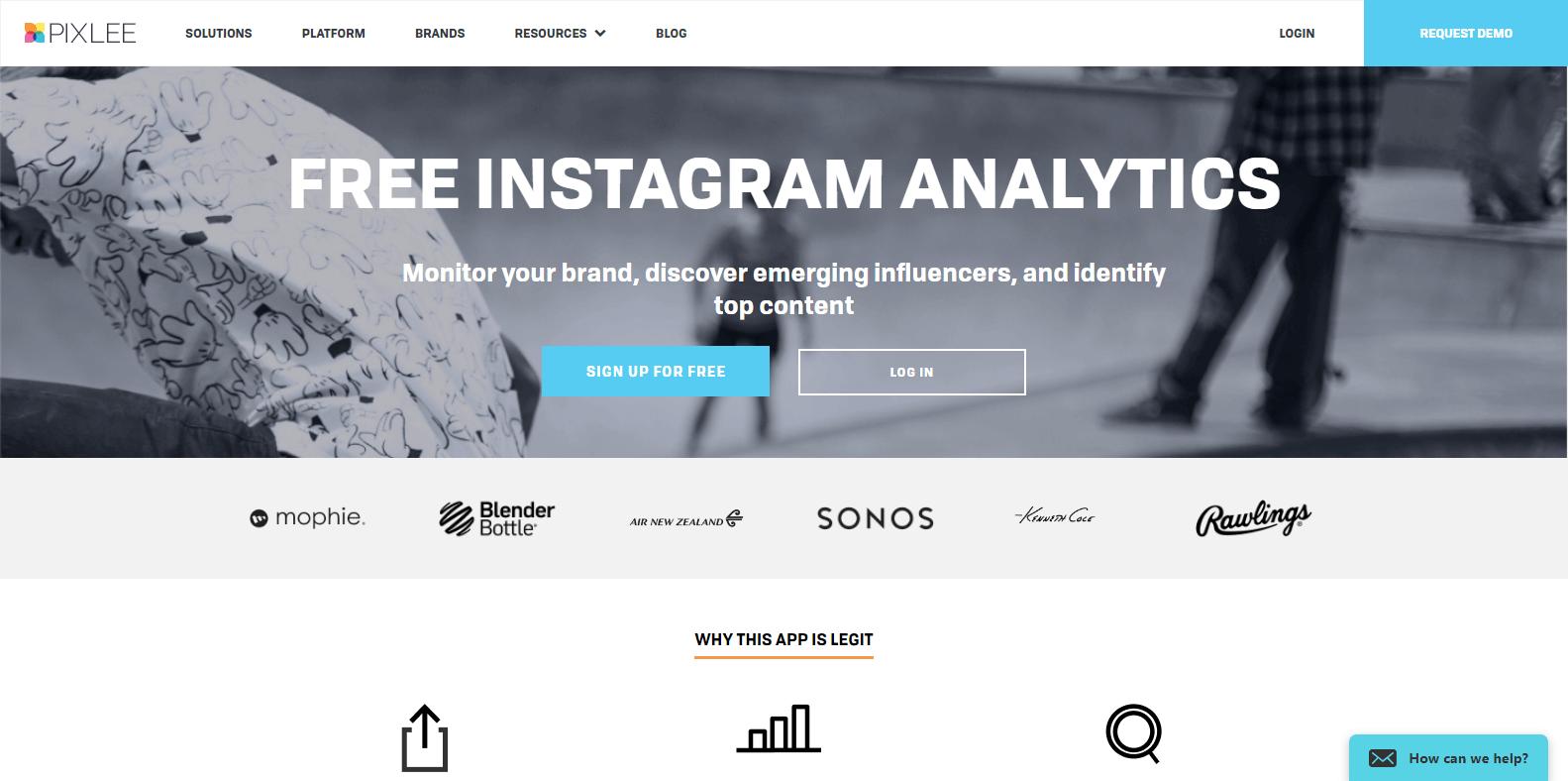Pixlee Instagram Analytics Tools