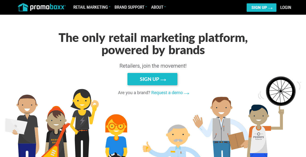 Promoboxx Content Marketing Platform