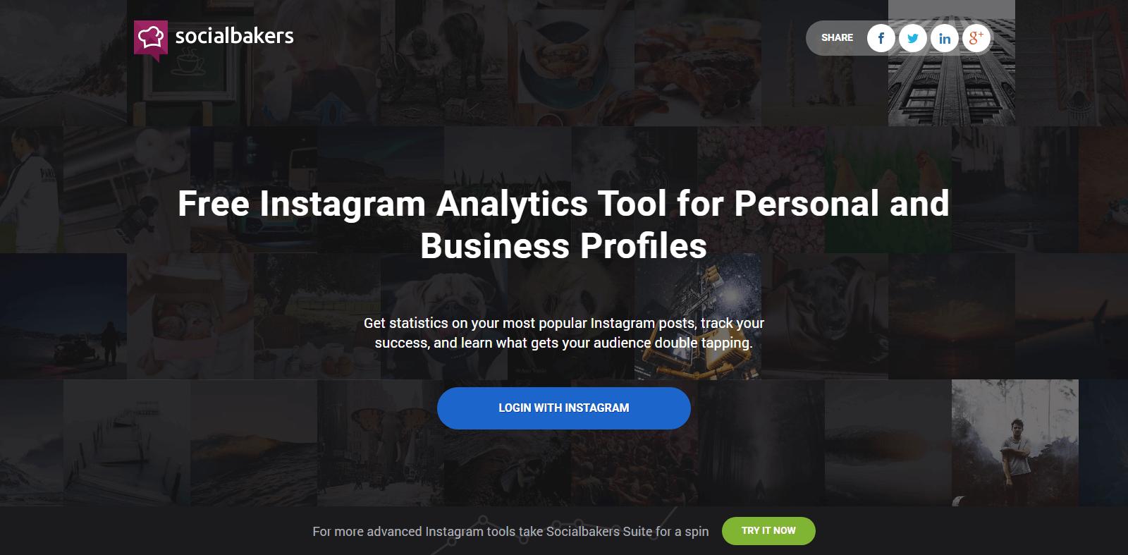 Socialbakers Instagram Analytics Tools