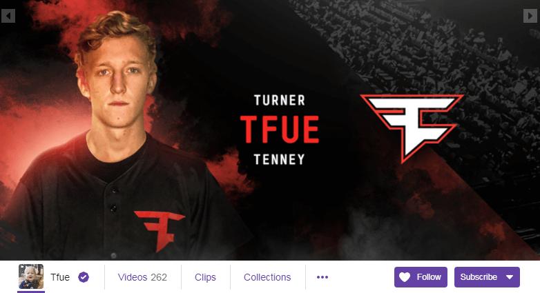 Tfue Twitch Streamers