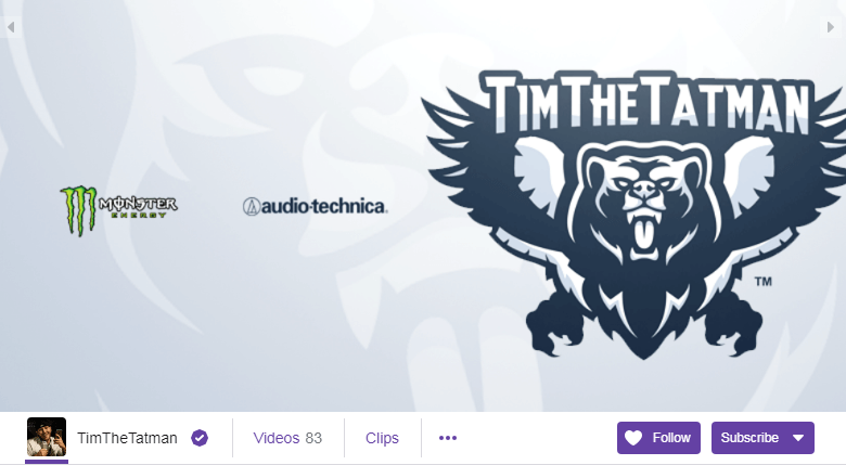 TimTheTatman Twitch Streamers