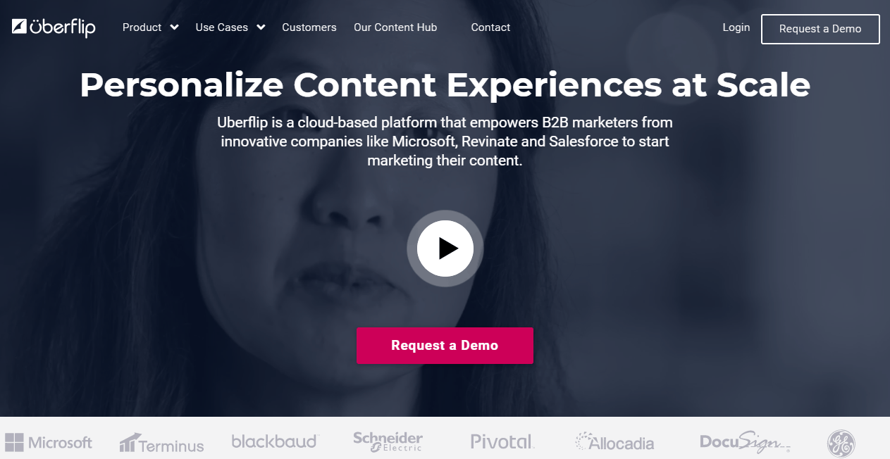 Uberflip Content Marketing Platform