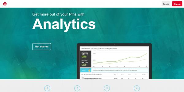 analytics pinterest tools