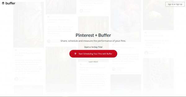 buffer pinterest tools
