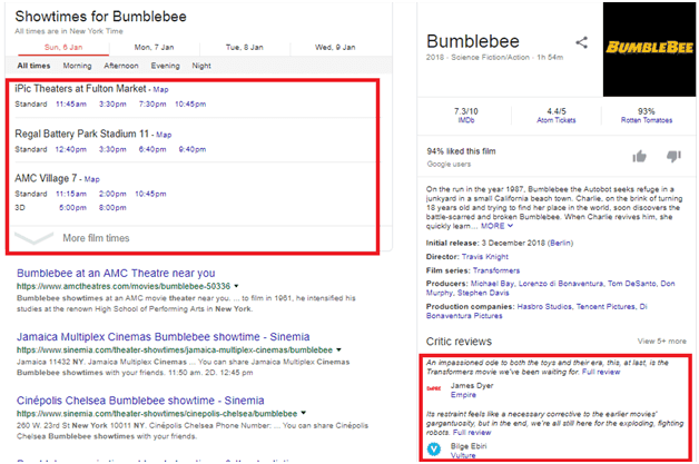 bumblebee Knowledge Graph