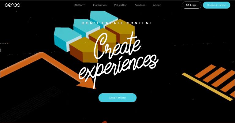 ceros Content Marketing Platforms