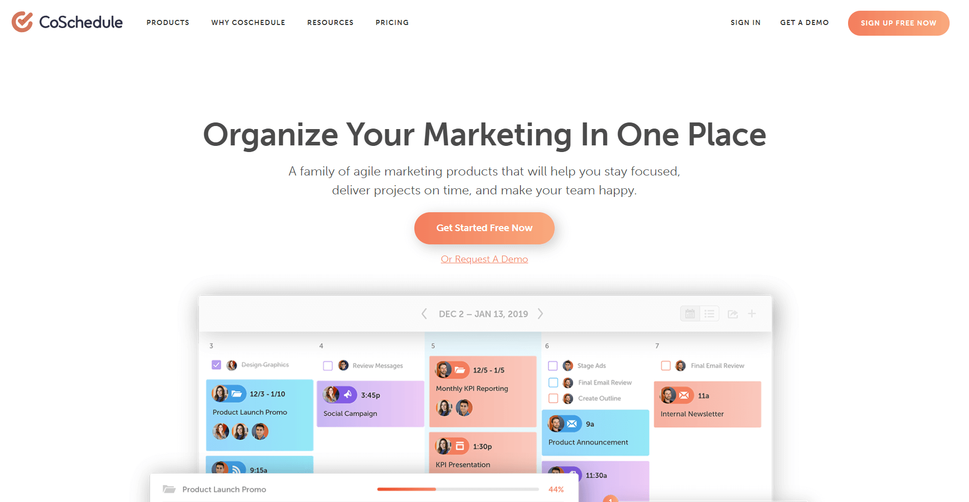 coschedule Content Marketing Platform