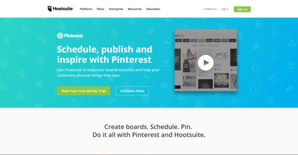 hootsuite pinterest tools