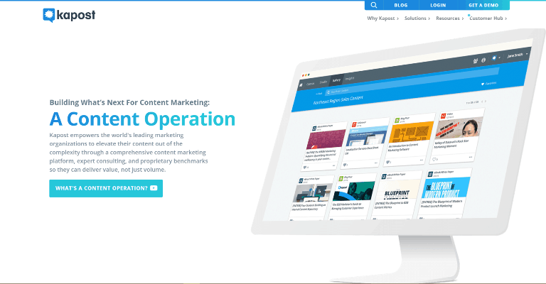 kapost Content Marketing Platforms