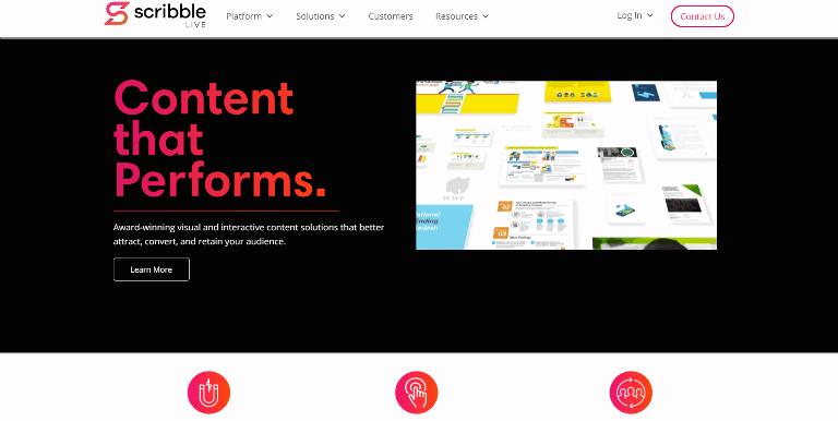 scribblelive Content Marketing Platforms