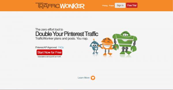 trafficwonker pinterest tools