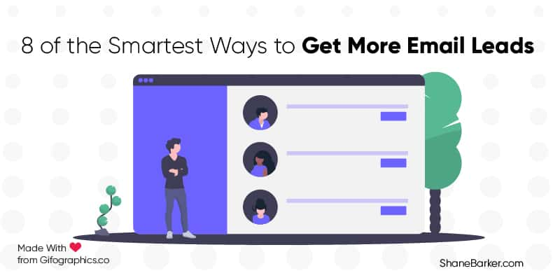 8 of the Smartest Ways to Get More Email Leads_blog