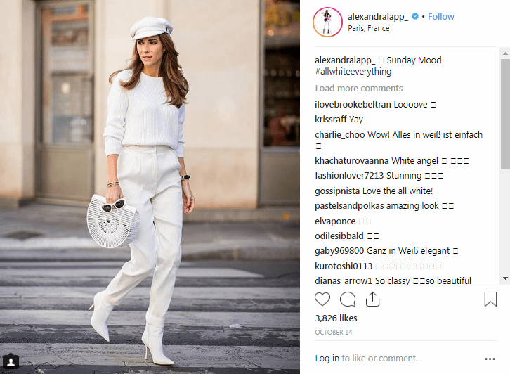 Alexandra Lapp Instagram Fashion Influencers