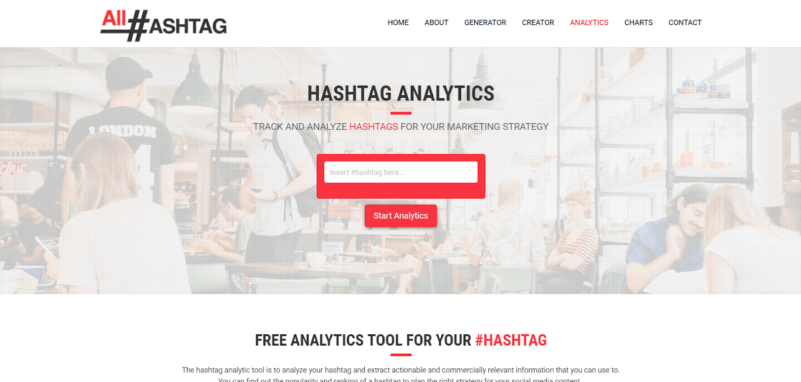 All Hashtag Tracking Tools