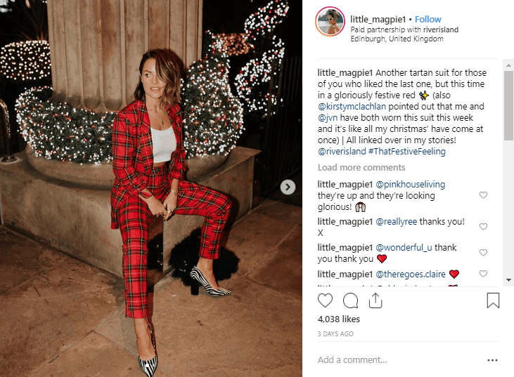 Amy Bell Instagram Fashion Influencers