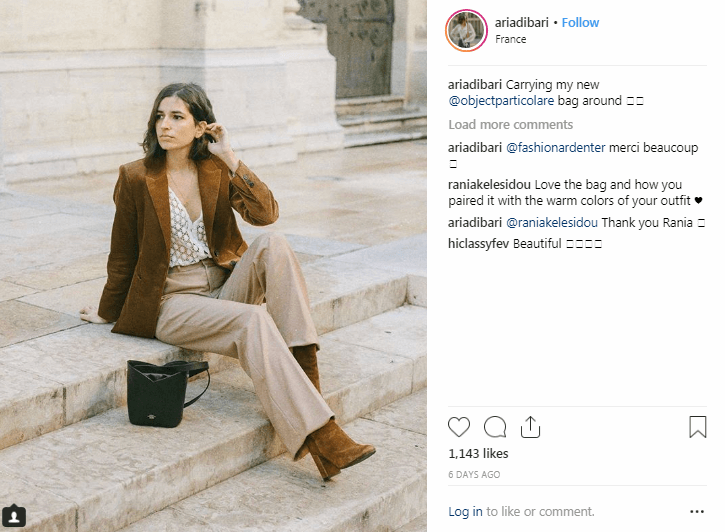 Aria Di Bari Instagram Fashion Influencers