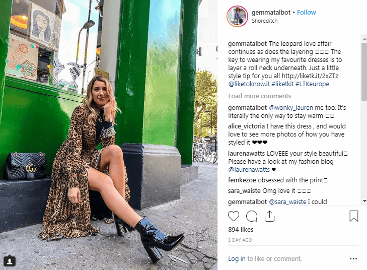 Gemma Talbot Instagram Fashion Influencers
