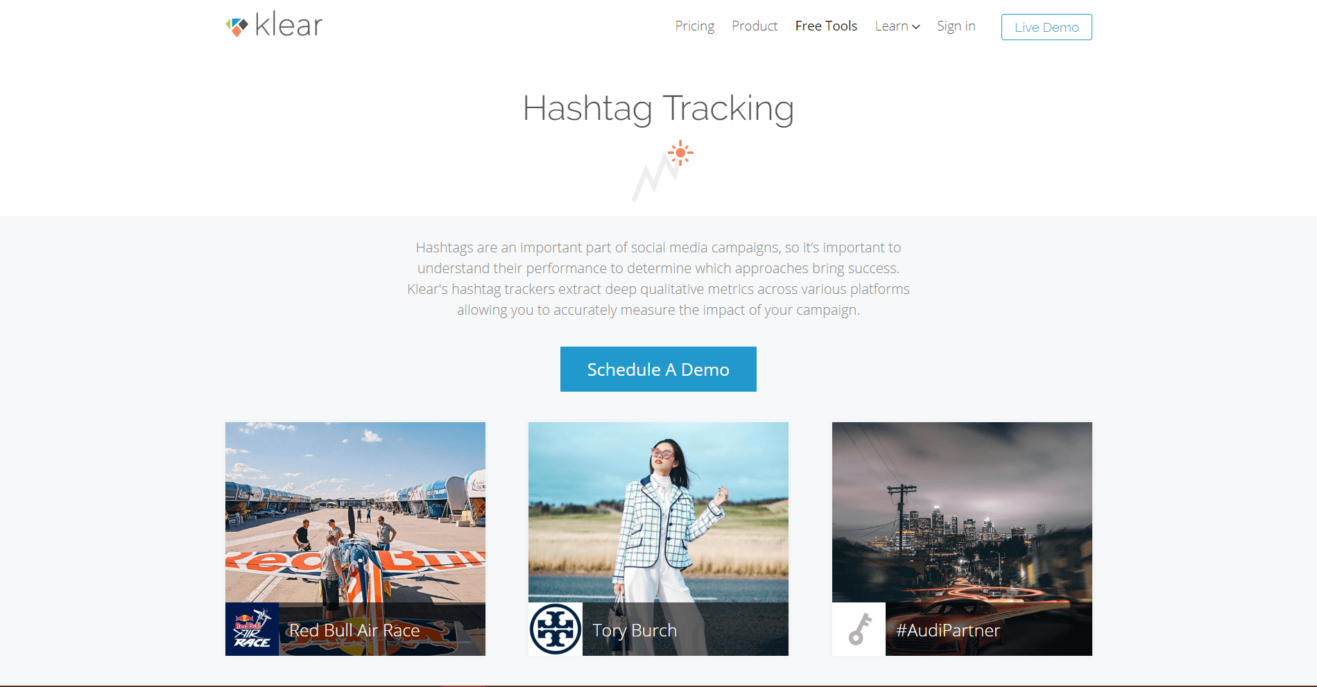Klear Hashtag Tracking Tools