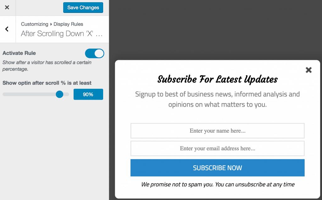 MailOptin Email Leads