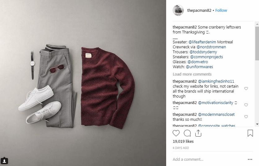 Phil Cohen Instagram Fashion Influencers