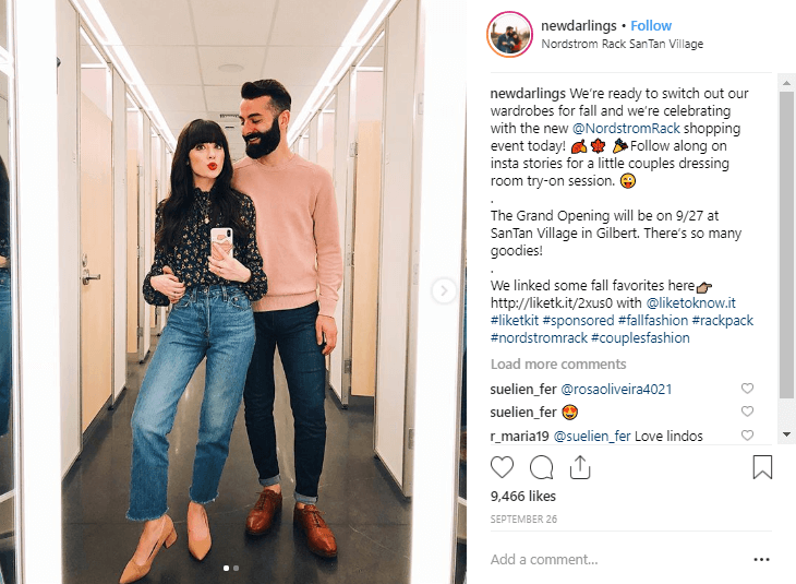 Robert and Christina2 Instagram Fashion Influencers