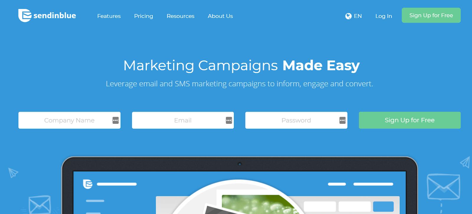 SendinBlue Email Marketing Tool