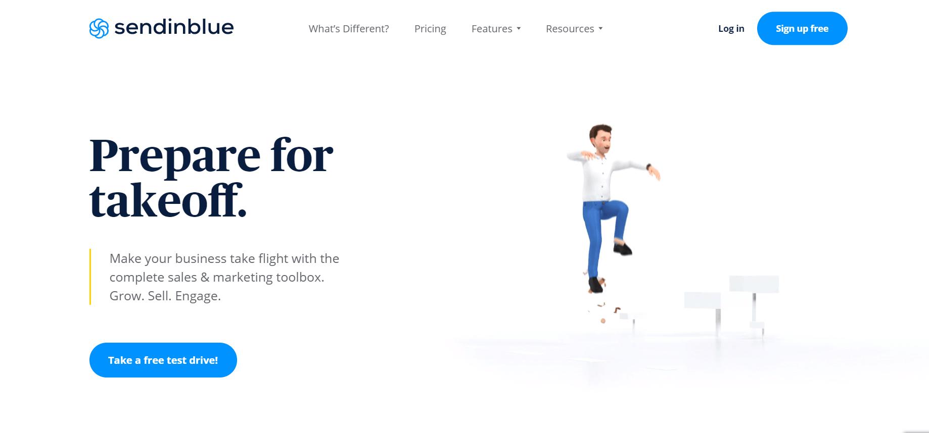SendinBlue email marketing platform