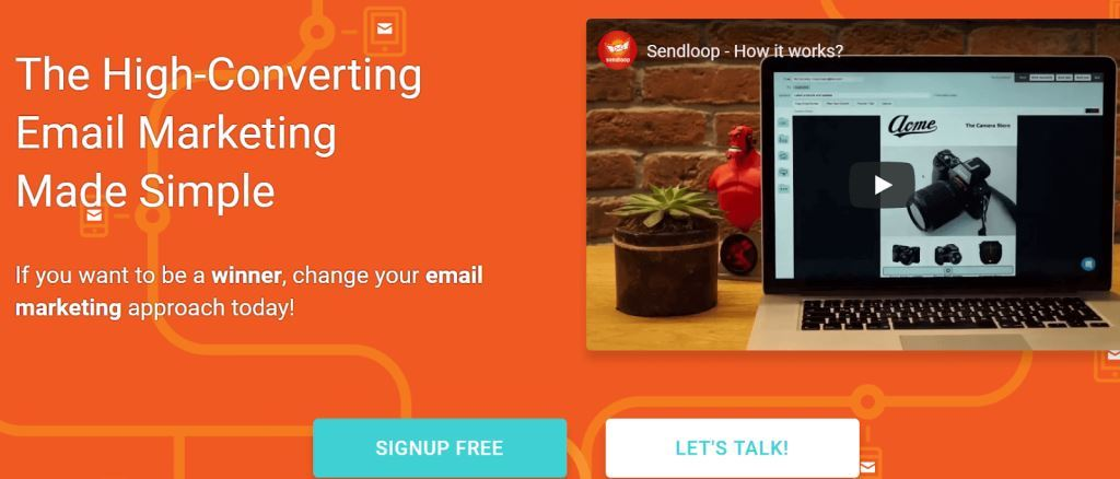 Sendloop email marketing platform