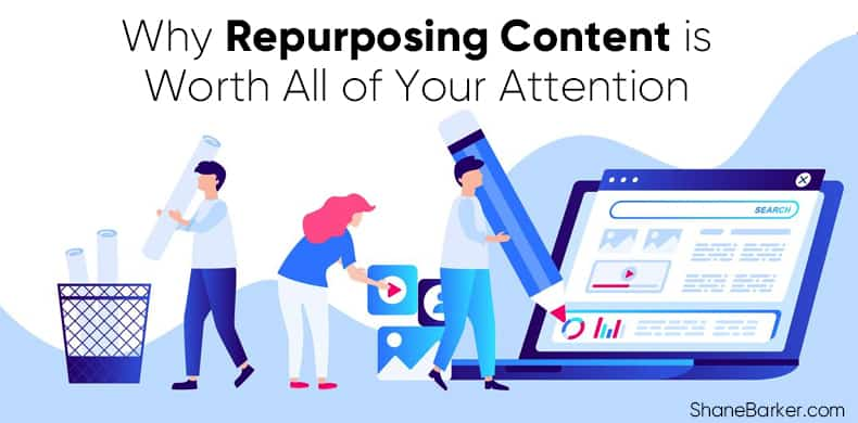 Why repurposing content is worth all your attention- blog