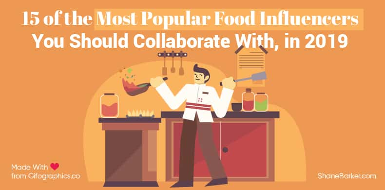 15 of the Most Popular Food Influencers You Should Collaborate With, in 2019-01