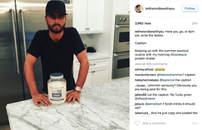 Accidently Copy-Pasting Instructions Influencer Marketing Fails