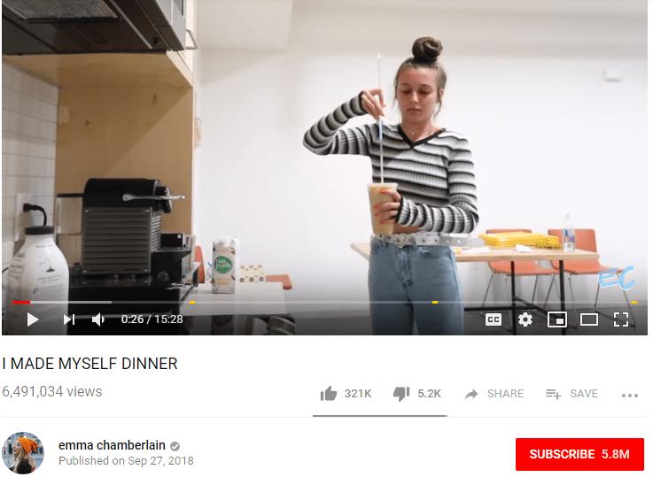 Emma Chamberlain Female YouTubers