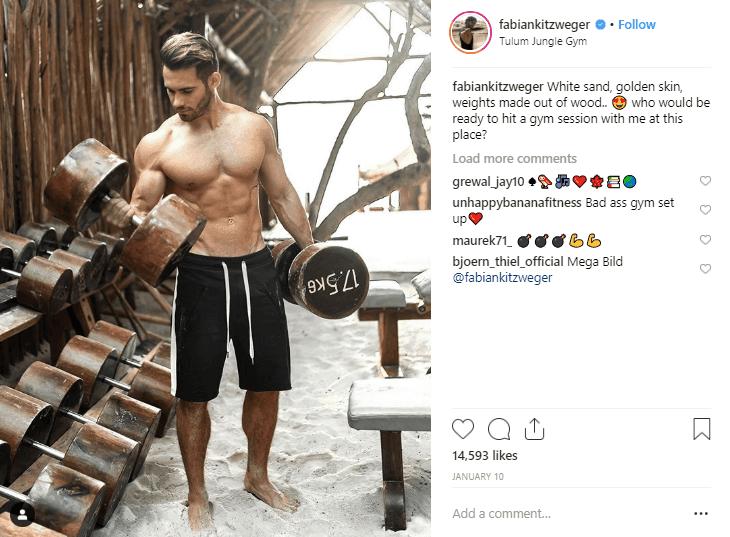 Fabian Kitzweger fitness influencers