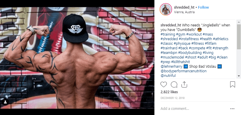 Hannes T fitness influencers