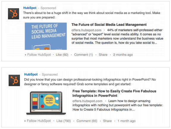 HubSpot Linkedin Lead Generation