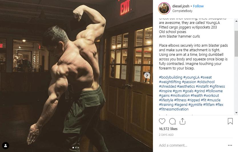 Joshua Taubes fitness influencers